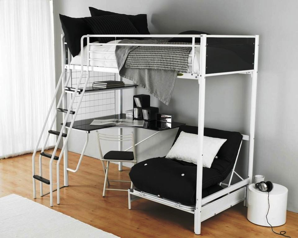 Image of: Bunk Bed Futon IKEA