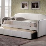 Comfy IKEA Twin Bed With Trundle White