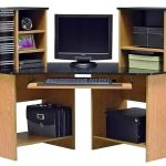Contemporary Corner Desk With Hutch IKEA Design