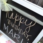 Easel With Chalkboard And Magnetic Dry Erase