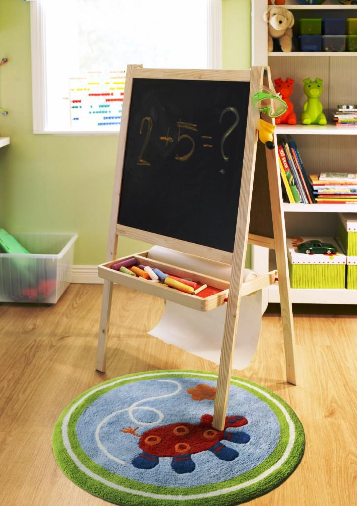 Image of: IKEA Childrens Easel