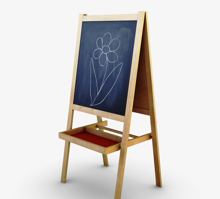 Image of: IKEA Easel Board