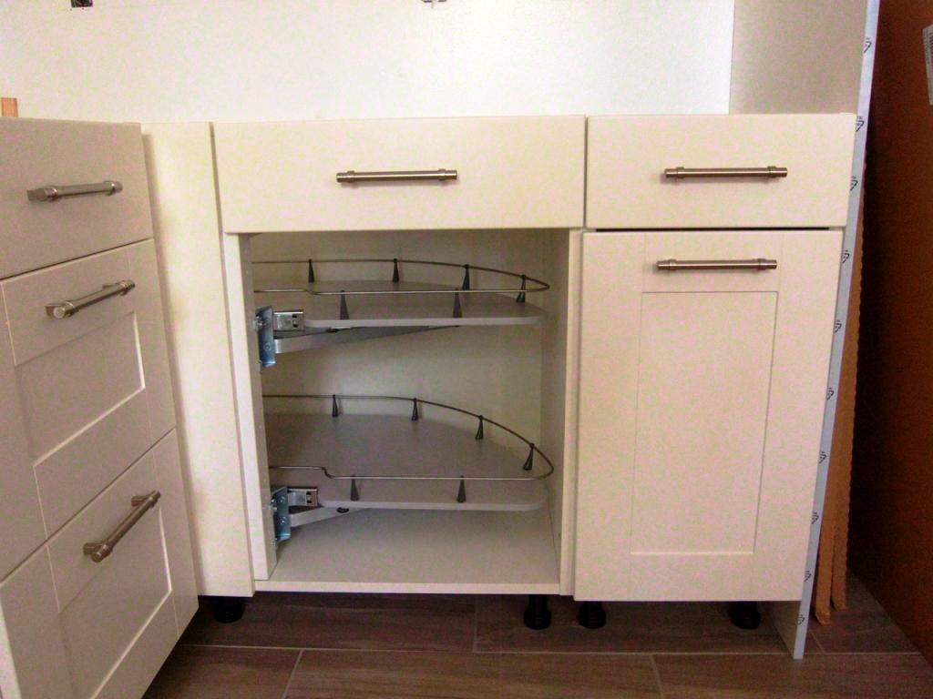 Image of: IKEA Kitchen Cabinet Legs