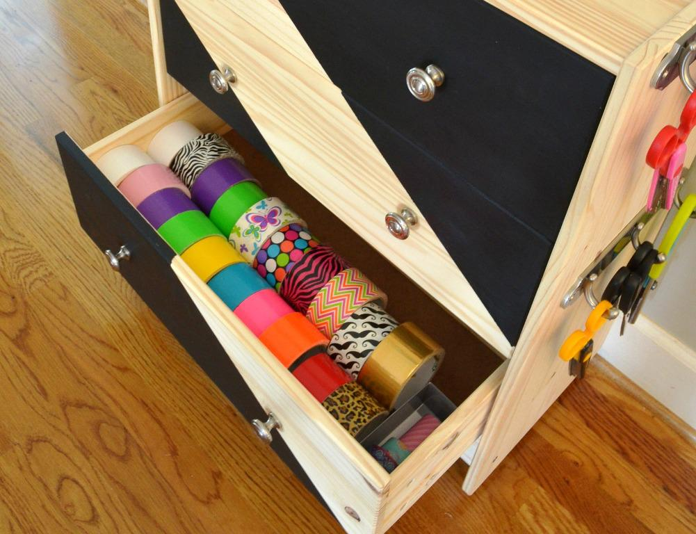 IKEA Rolling Cart With Drawers