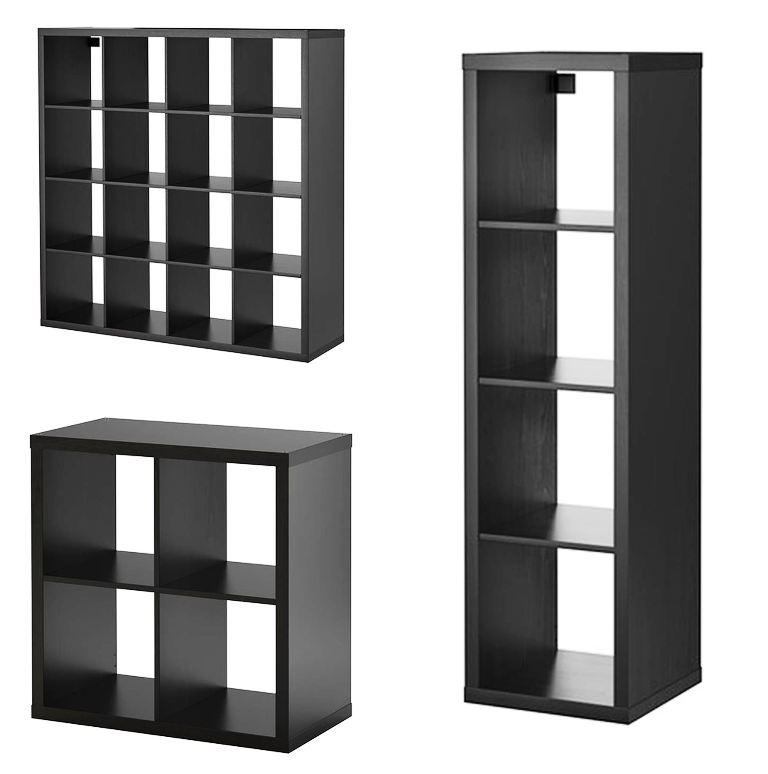 IKEA Storage Cubes Black