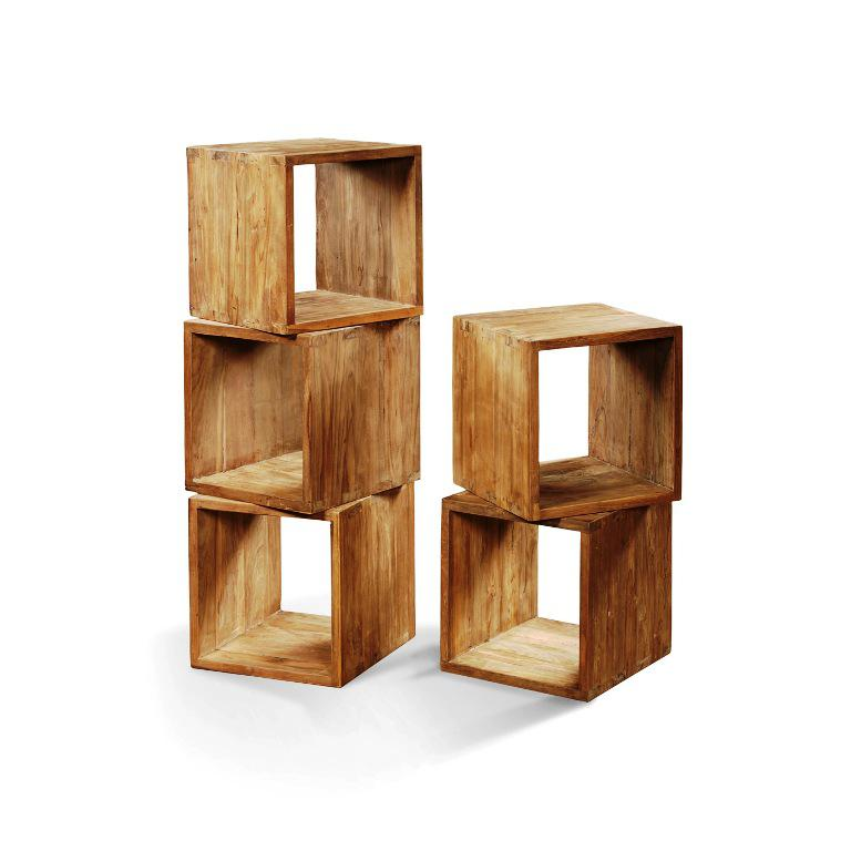 IKEA Storage Cubes Wood