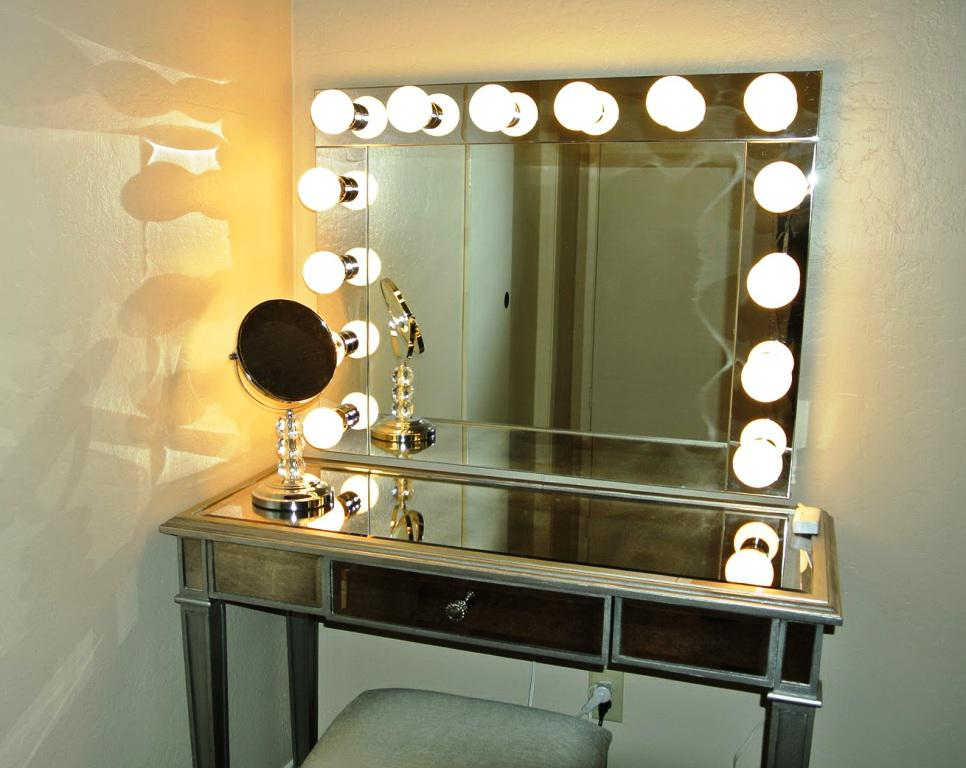 IKEA Vanity Mirror With Lights