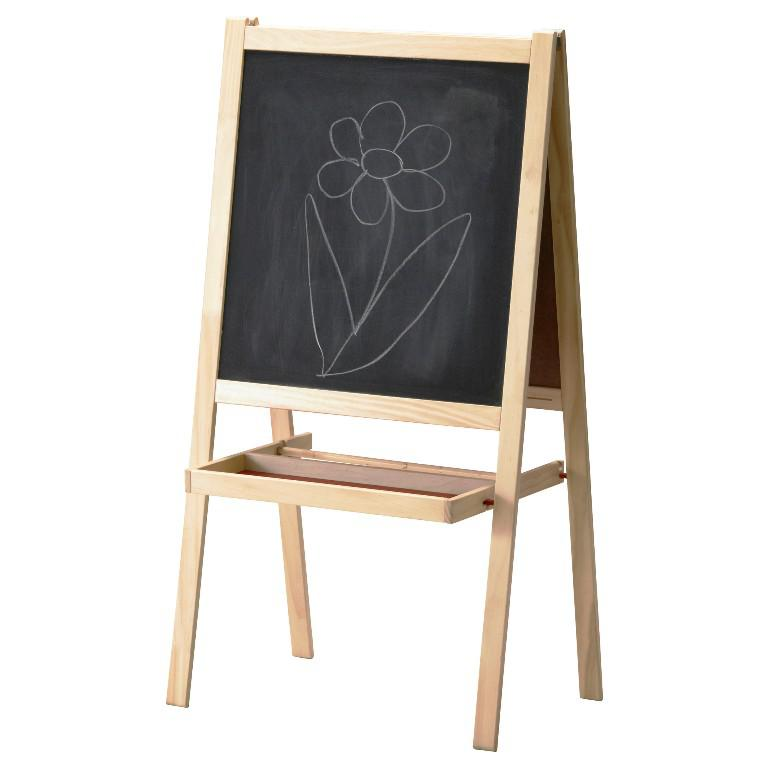Image of: Kids Easel IKEA