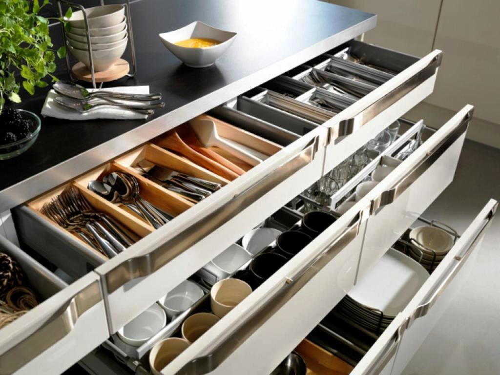 Image of: Kitchen Cabinets Organizers IKEA