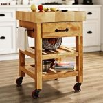 Kitchen Rolling Carts On Wheels With Drawers