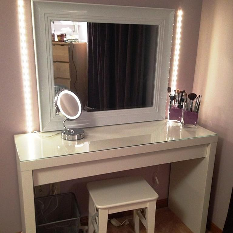 Large Vanity Mirror With Lights IKEA
