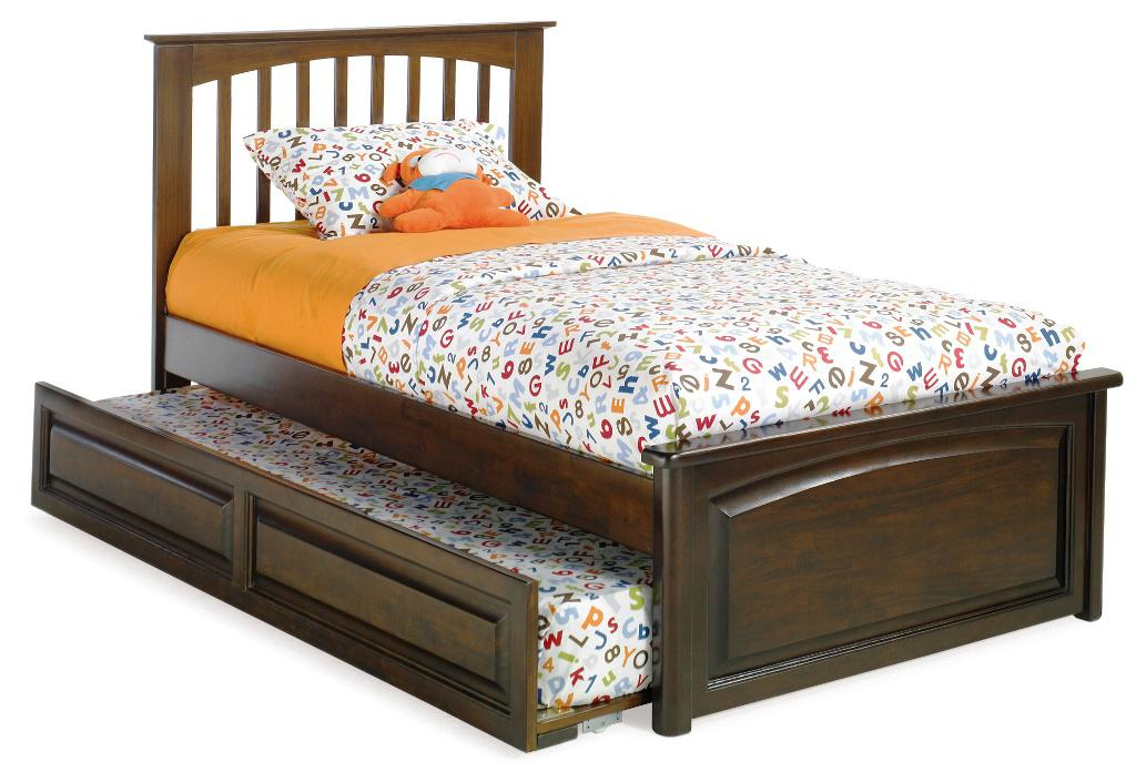 Trundle Bed Frame IKEA Brown Wood