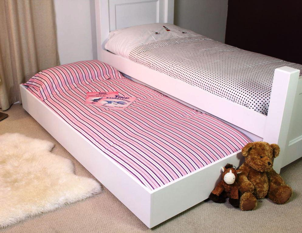 Twin Bed With Trundle IKEA White Frame