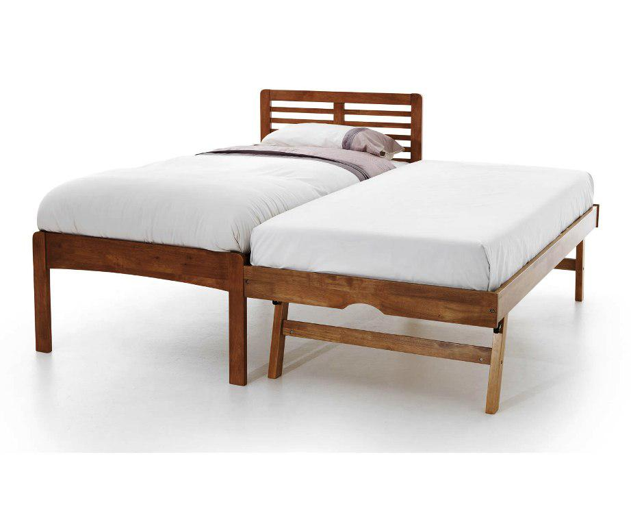 Twin Trundle Bed IKEA Natural Wood
