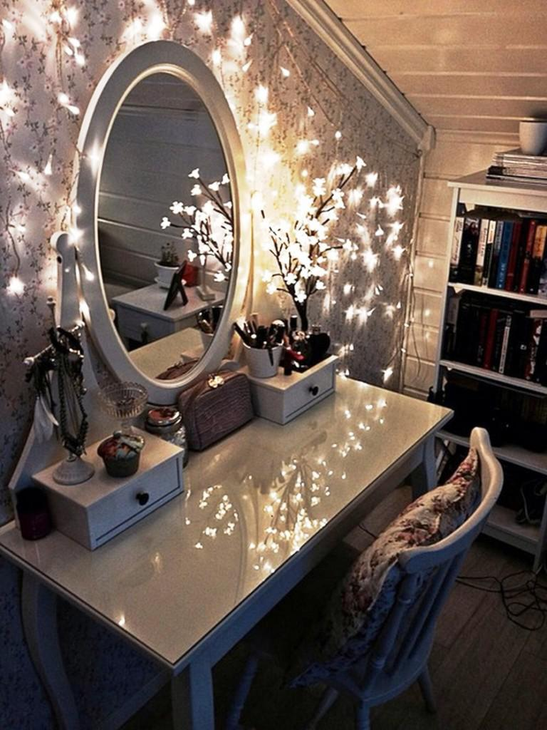 Vanity Mirror With LED Lights IKEA