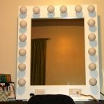 Vanity Mirror With Lights IKEA DIY