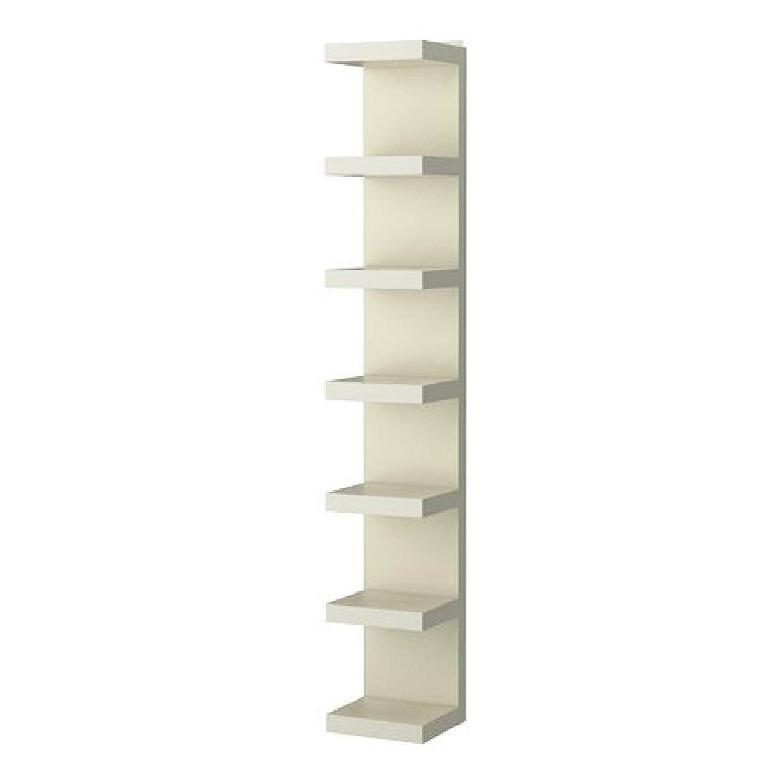 White Corner Shelf Unit IKEA