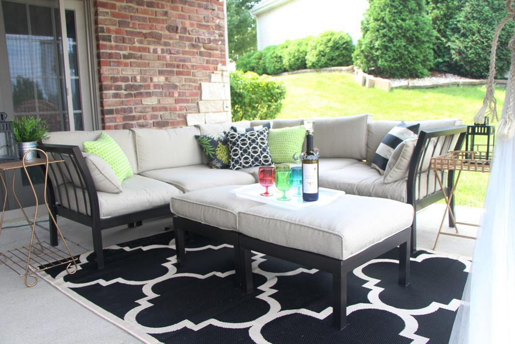 Beautiful Outdoor Rugs IKEA Color Pattern