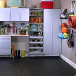 Contemporary IKEA Garage Storage