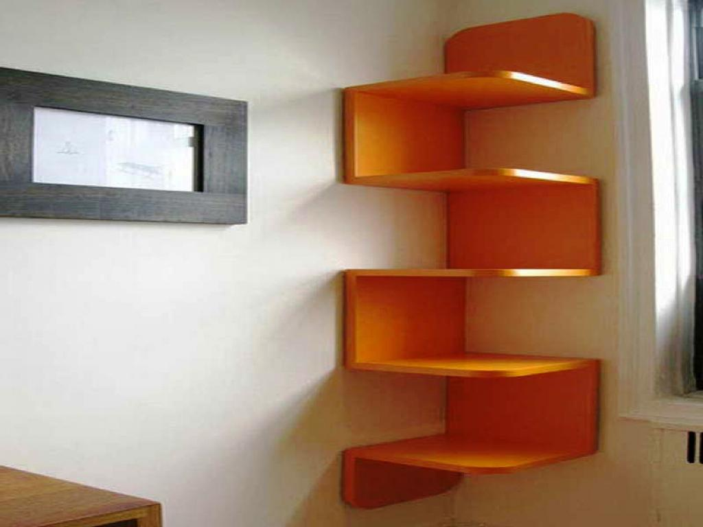 Image of: Corner Bookshelves IKEA