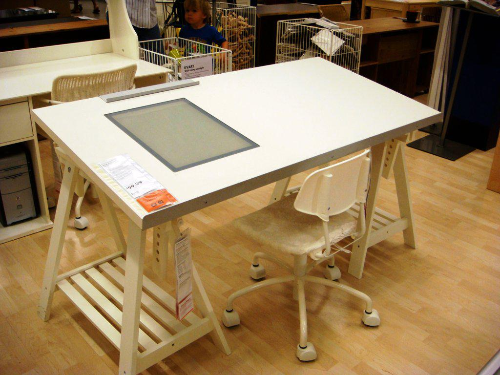 Image of: Drafting Table IKEA Design