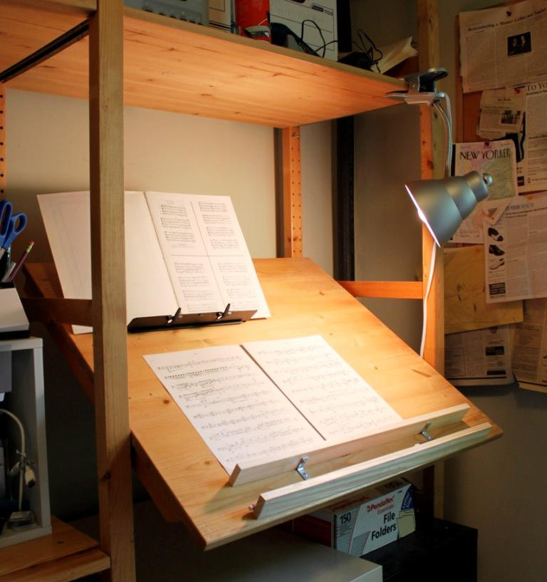 Image of: Drafting Table IKEA Hack