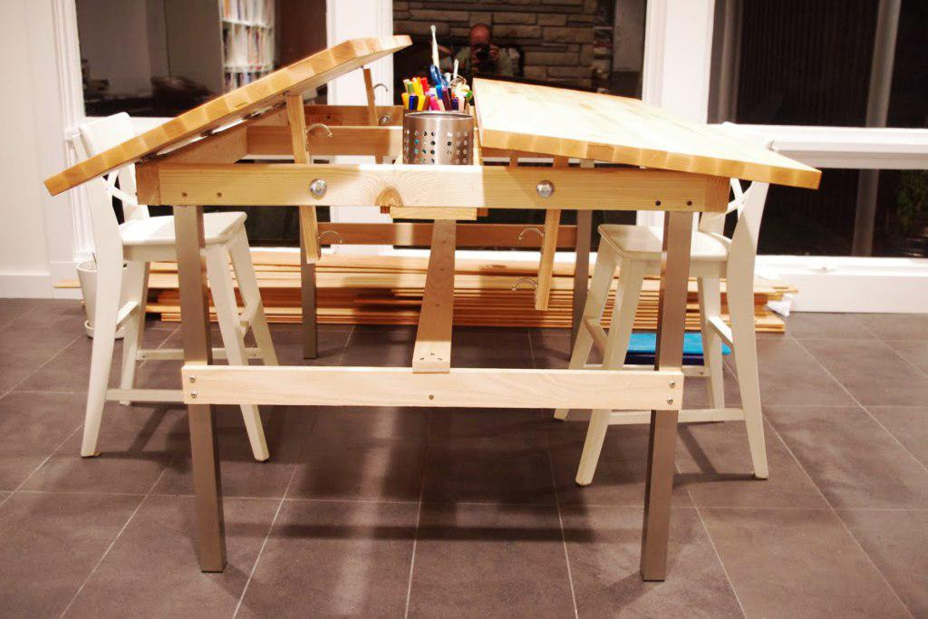Image of: Drafting Tables IKEA