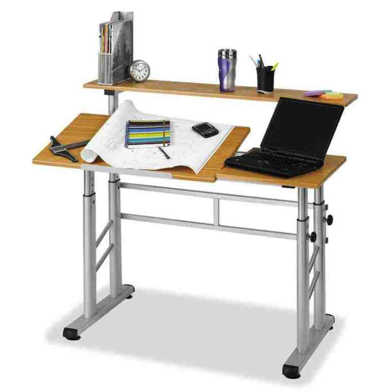Image of: Elegant Drafting Table IKEA