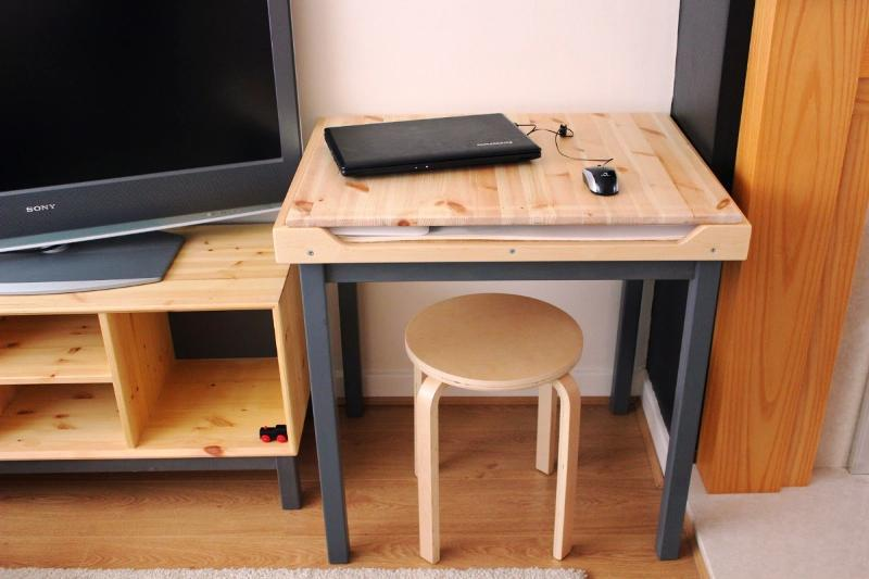 Image of: Finnvard Desk Assembly