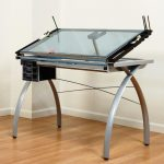 Glass Drafting Table IKEA