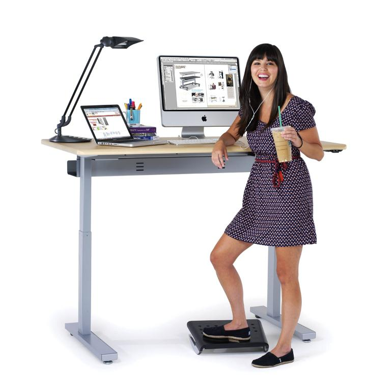 Healthy Fun Stand Up Computer Desk IKEA