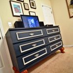 IKEA Black 6 Drawer Dresser