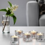 IKEA Candle Holder Glass