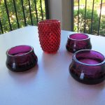 IKEA Candle Holders Glass