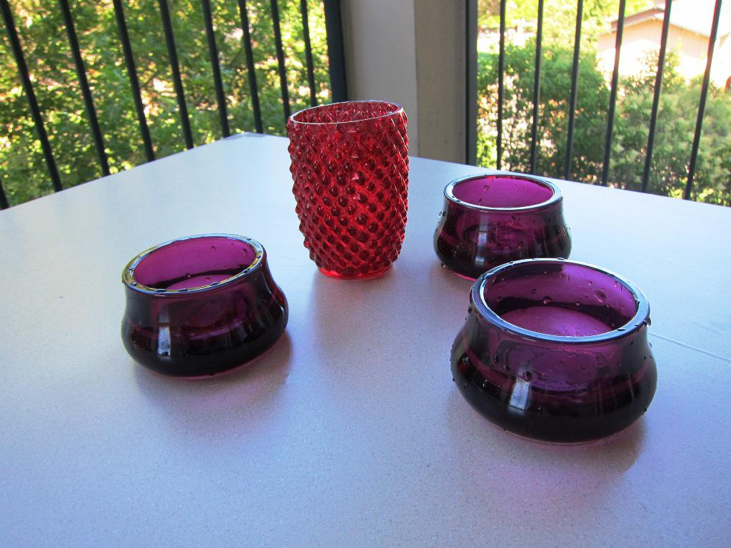 Image of: IKEA Candle Holders Glass
