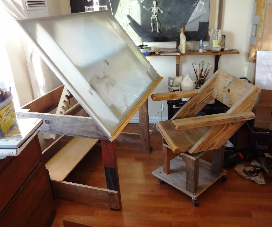 Image of: IKEA Drafting Table