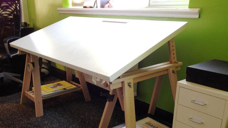Image of: IKEA Finnvard Desk