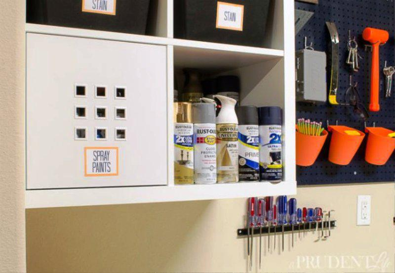 IKEA Garage Storage Wall Shelving