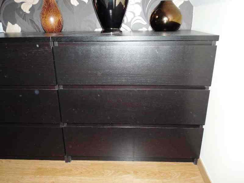 Best IKEA Black Dresser Modern Contemporary Bedroom