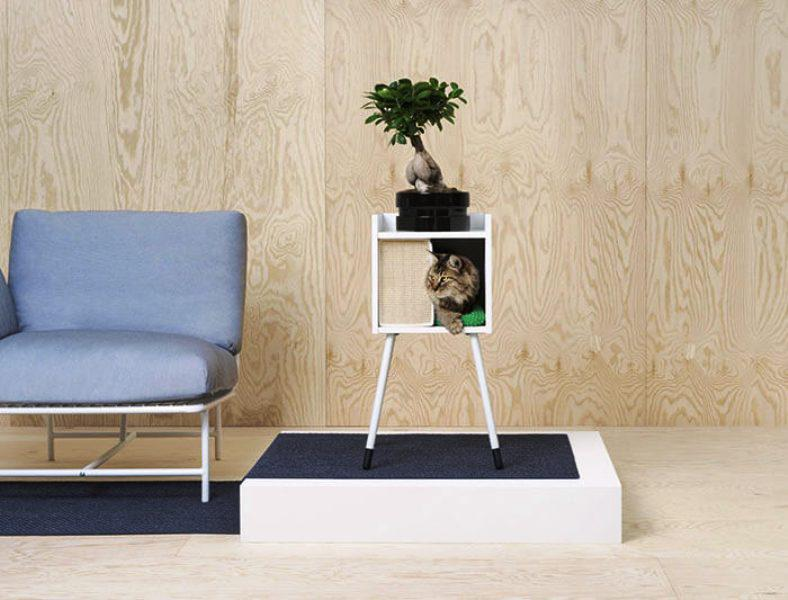 IKEA Pet Furniture Cat House On Legs