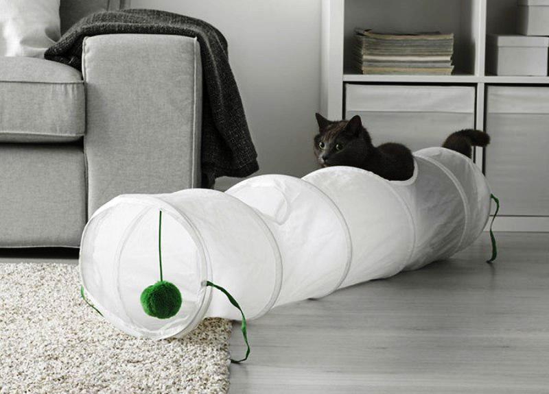 IKEA Pet Furniture Cat Tunnel
