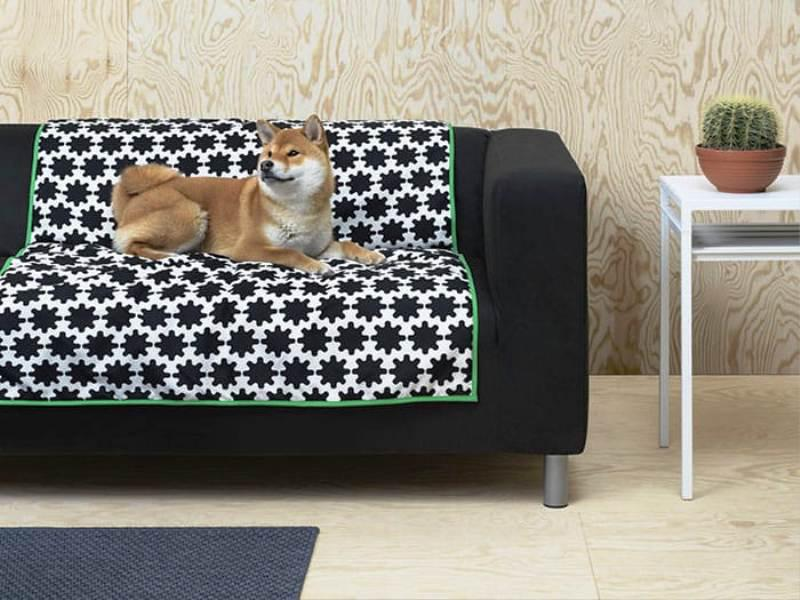 IKEA Pet Furniture Dog Blanket