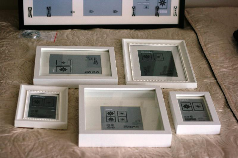 IKEA Photo Frames Collage Ideas