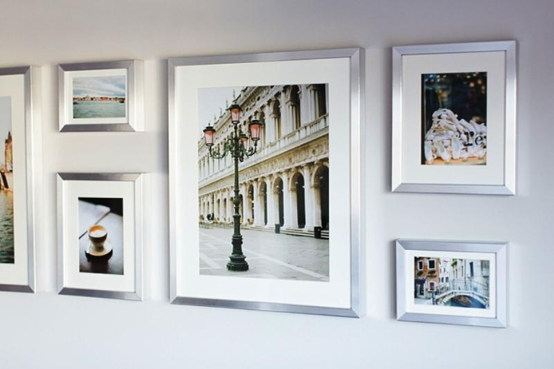 IKEA Photo Frames Display Wall Decor