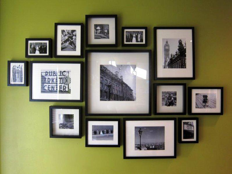 IKEA Photo Frames Living Room Walls Decor