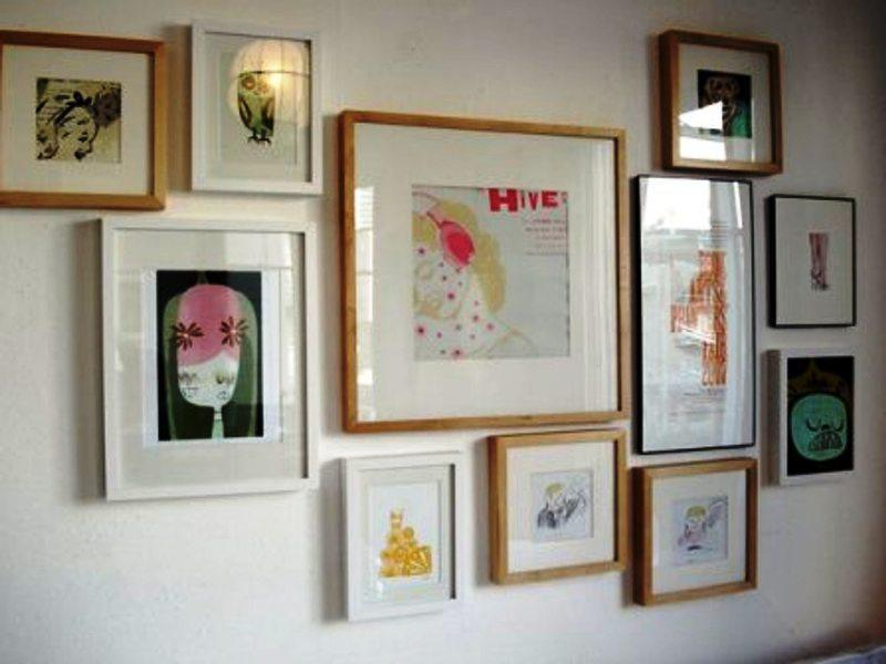 IKEA Photo Frames Wall Gallery