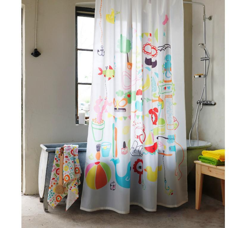 IKEA Shower Curtain Colors