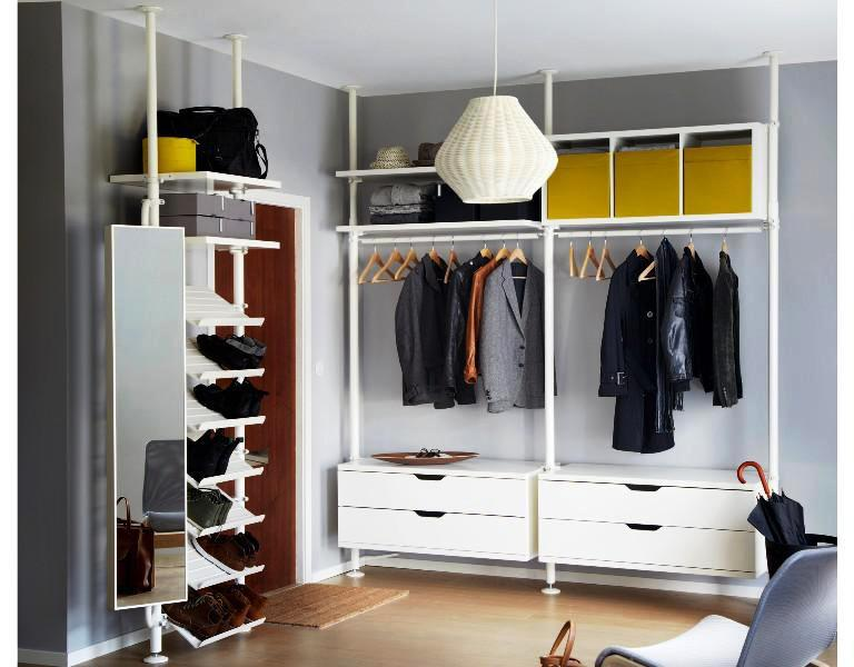 IKEA Stolmen Bedroom Closet Systems