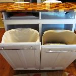 IKEA Trash Can Kitchen Island