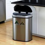 IKEA Trash Can Stainless Steel